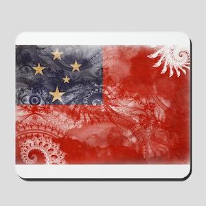 Samoa Flag Mousepad