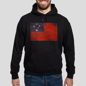 Samoa Flag Hoodie (dark)
