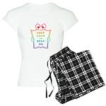 Keep Calm and Carry On Women's Light Pajamas