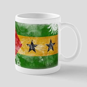 Sao Tome and Principe Flag Mug