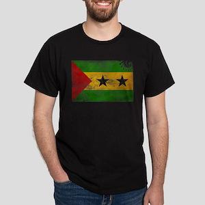Sao Tome and Principe Flag Dark T-Shirt