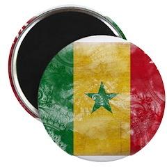 Senegal Flag Magnet