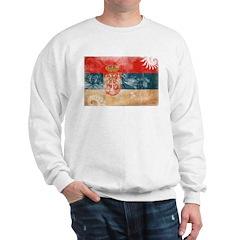 Serbia Flag Sweatshirt