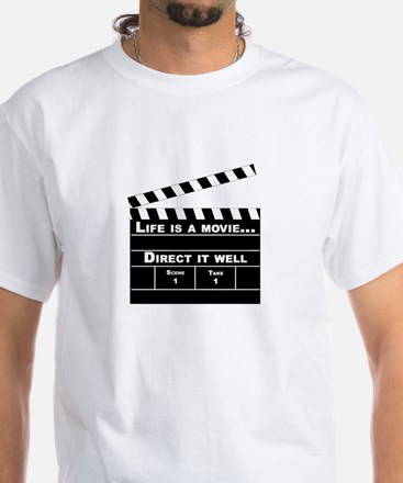 Life is a movie One side only T-Shirt