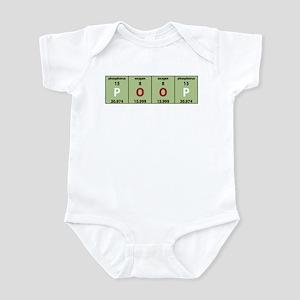 Chemistry Poop Infant Creeper