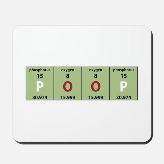 Chemistry Poop Mousepad