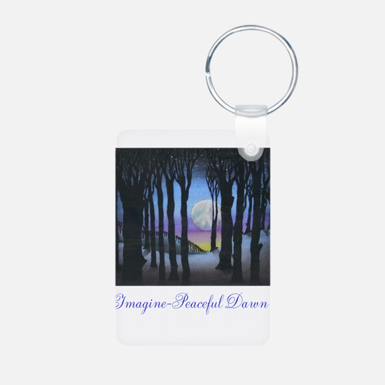 Imagine Peaceful Dawn Keychains