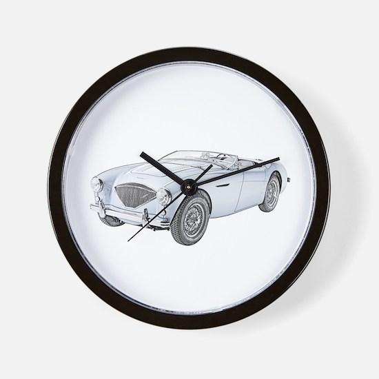 1953 Austin-Healey 100 Wall Clock