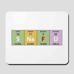 Chemistry SNAFU Mousepad
