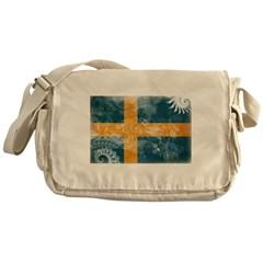Sweden Flag Messenger Bag