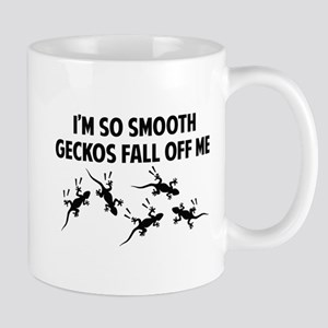 I'm so smooth geckos fall off me Mug