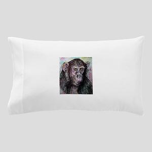 Chimp, wildlife art! Pillow Case