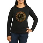 King in Yellow Women's Long Sleeve Dark T-Shirt