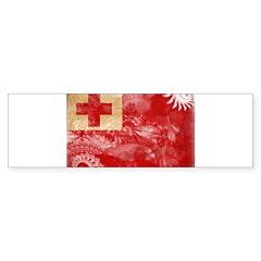 Tonga Flag Sticker (Bumper 50 pk)