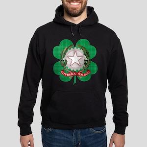 Irish Italian Heritage Hoodie (dark)