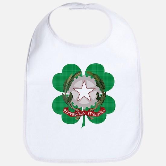 Irish Italian Heritage Bib