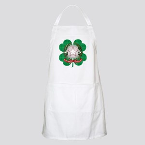 Irish Italian Heritage Apron