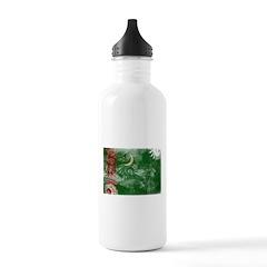 Turkmenistan Flag Water Bottle