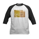 Vatican City Flag Kids Baseball Jersey