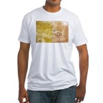 Vatican City Flag Fitted T-Shirt