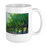 Napa Valley Wine Country HARVEST Large Coffee Mugs