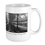 Wine Country, Napa Valley Large Mug