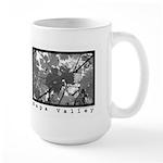 Black and White Napa Valley Gifts Large Mug