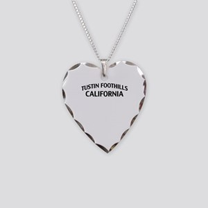 Tustin Foothills California Necklace Heart Charm