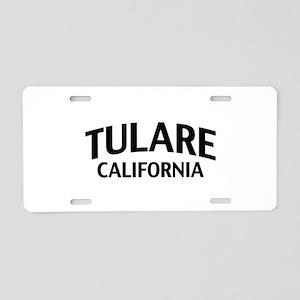 Tulare California Aluminum License Plate