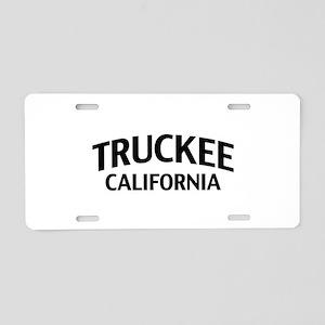 Truckee California Aluminum License Plate