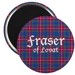 Tartan - Fraser of Lovat Magnet