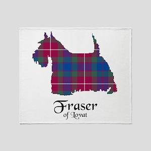 Terrier - Fraser of Lovat Throw Blanket