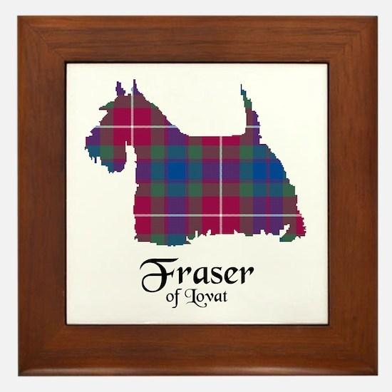 Terrier - Fraser of Lovat Framed Tile
