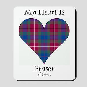 Heart - Fraser of Lovat Mousepad