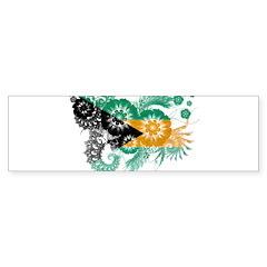 Bahamas Flag Sticker (Bumper 10 pk)