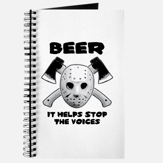 Beer Helps Stop The Voices Journal
