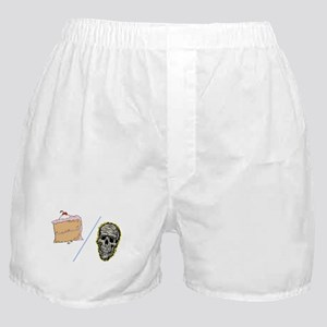 Cake or Death Boxer Shorts