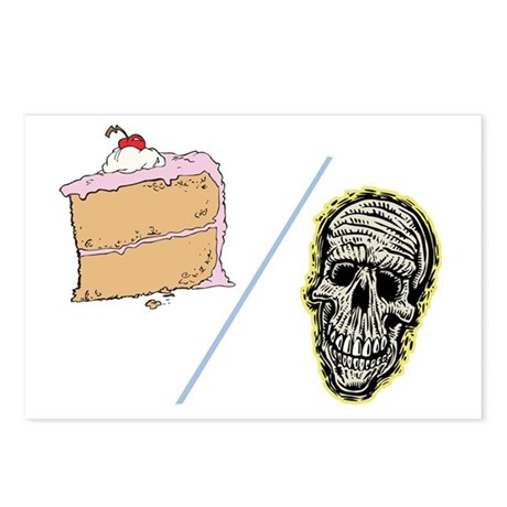 Cake or Death Postcards (Package of 8)