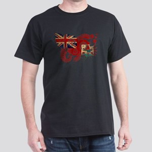 Bermuda Flag Dark T-Shirt