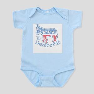 Lil Democrat Donkey Infant Creeper