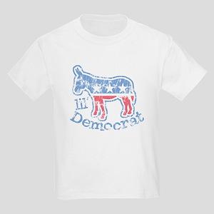 Lil Democrat Donkey Kids T-Shirt