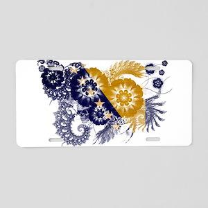 Bosnia and Herzegovina Flag Aluminum License Plate