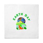 Earth Day Home Queen Duvet