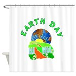 Earth Day Home Shower Curtain