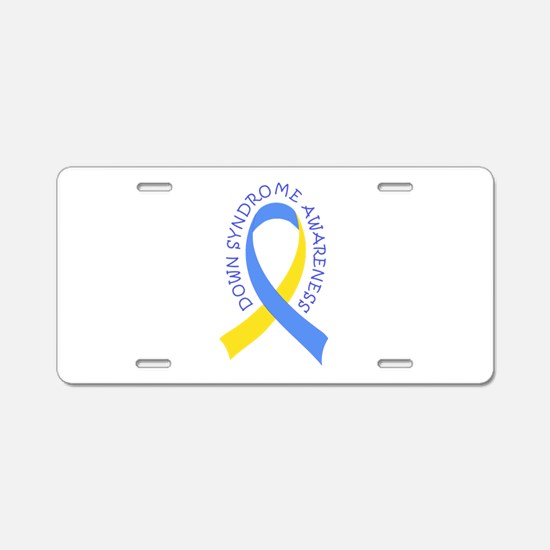 Down Syndrome Awareness Aluminum License Plate