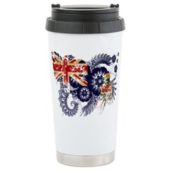 Cayman Islands Flag Stainless Steel Travel Mug