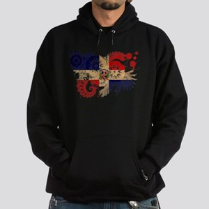 Dominican Republic Flag Hoodie (dark)