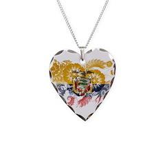 Ecuador Flag Necklace