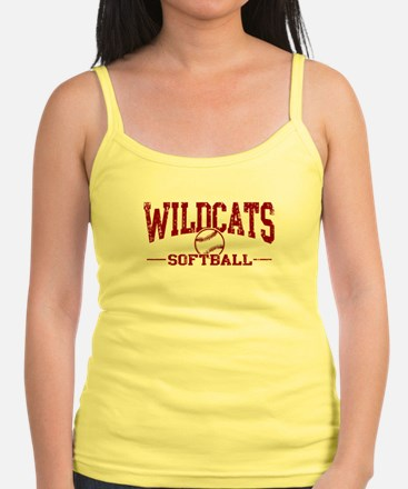 Wildcats Softball Jr.Spaghetti Strap