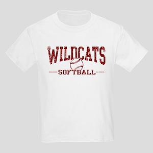 Wildcats Softball Kids Light T-Shirt
